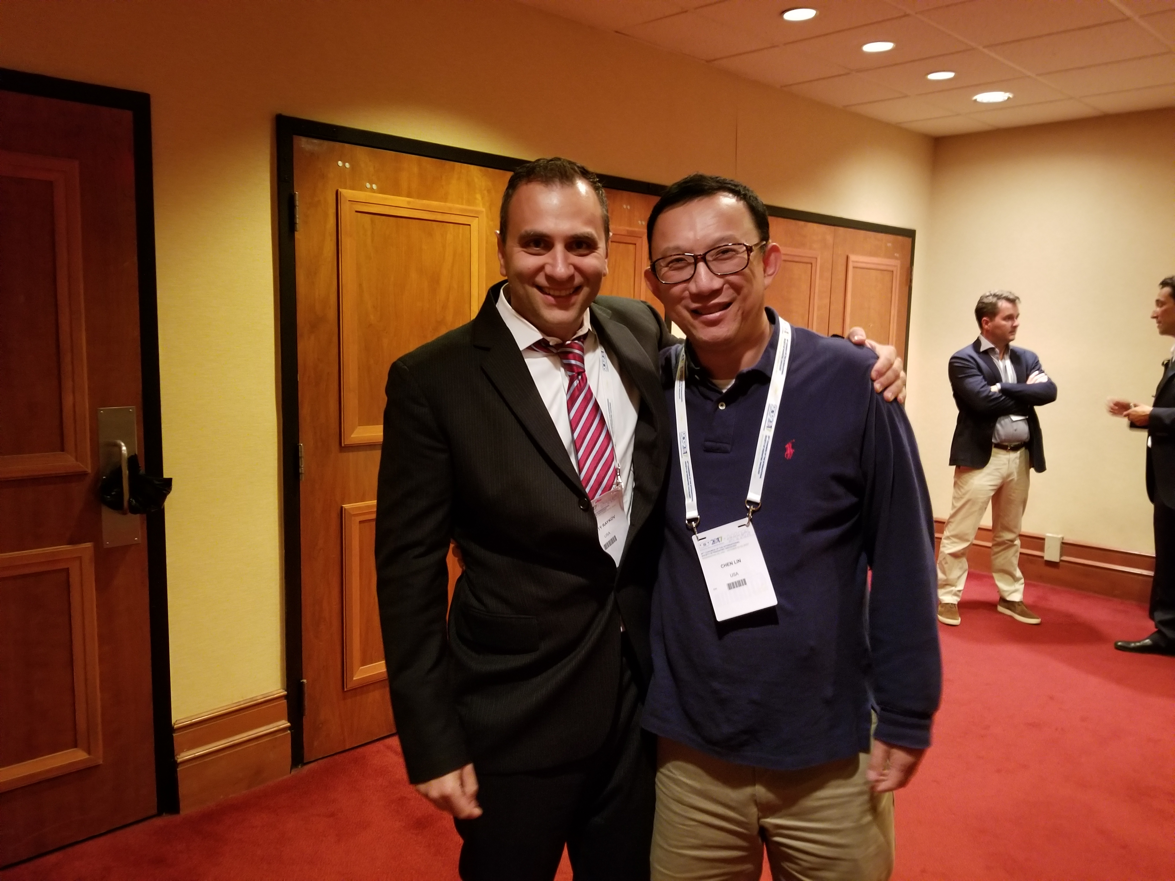 With FENC CEO Rosty Raykov at the Conference