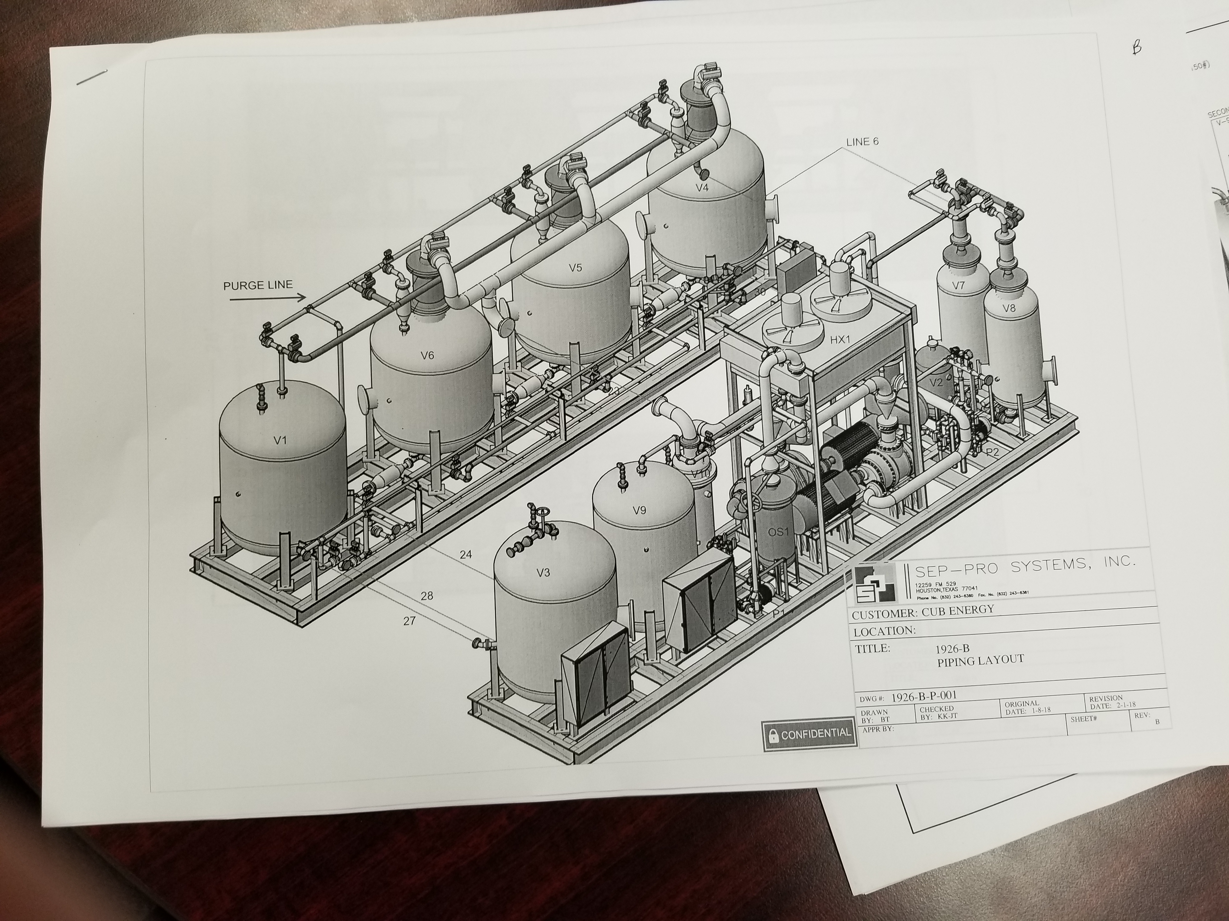 Schematic Diagram of the New Unit