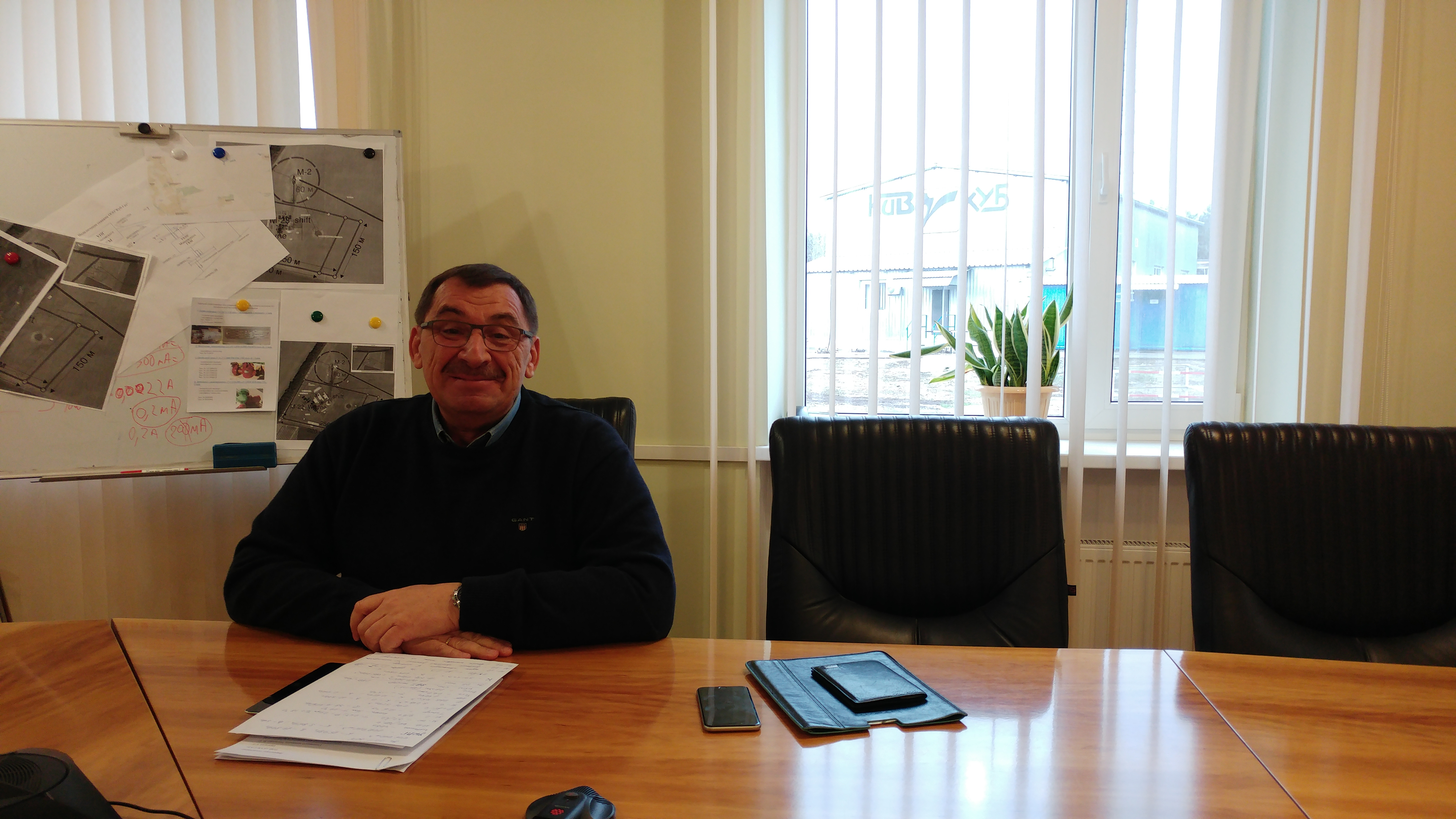 Mr.Sergey Panchuk, director of eastern operations